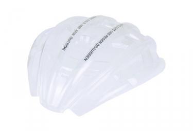 protection de pluie pour casque casco sportiv tc plus translucide