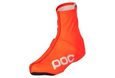 couvres chaussures poc avip rain bootie orange