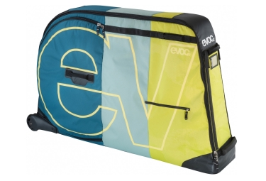 sac velo evoc bike travel bag 280l bleu jaune