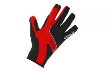 gants hiver spiuk 2017 xp essentials winter rouge noir