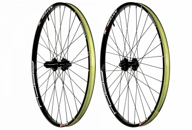 paire de roues asterion ztr arch mk3 27 5 15x100mm 142x12mm shimano