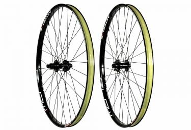 paire de roues asterion notubes ztr flow mk3 27 5 15x100mm 12x142mm sram xd