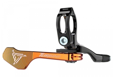 commande tige de selle raceface 1x turbine orange