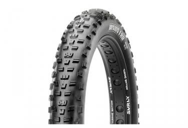 maxxis pneu fat bike minion fbr 26 dual 60tpi tringles souples tubetype tb72664200