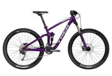 vtt tout suspendu femmes trek 2017 fuel ex 5 wsd 29 shimano deore 10v violet