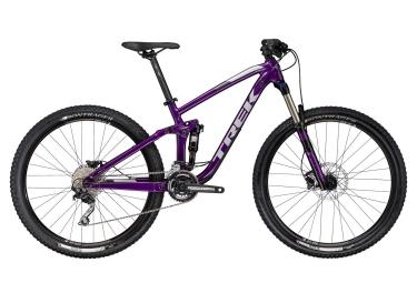 vtt tout suspendu femmes trek 2017 fuel ex 5 wsd 27 5 shimano deore 10v violet
