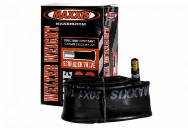 maxxis chambre a air welter weight 20 x 1 1 4 1 3 8 valve schrader