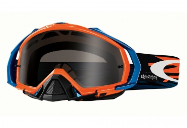 masque oakley mayhem pro tld orange gris fonce fume oo7051 20