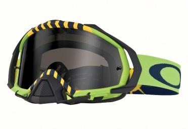 masque oakley mayhem pro tld filght serie royal aces vert noir fume oo7051 19