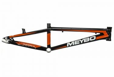cadre bmx race meybo holeshot 2017 noir blanc orange
