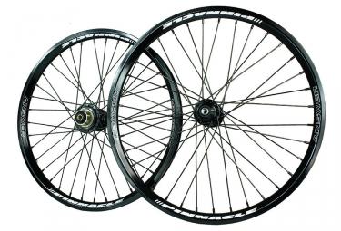 paire de roues answer pinnacle 20 x 1 75 noir