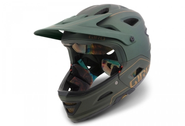 casque avec mentonniere amovible giro switchblade mips vert