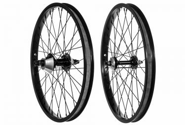 paire de roues avec guards genesis full guard proper noir