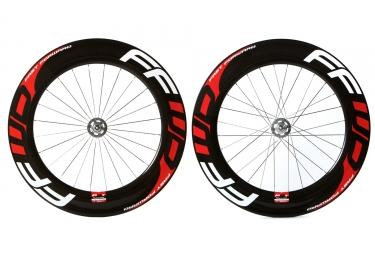 paire de roues fast forward piste f9t carbon boyaux