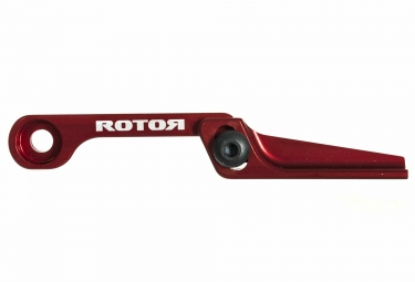rotor patte anti deraillement reglable cnc rouge