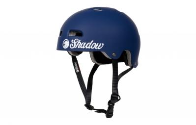 casque bol shadow classic bleu mat