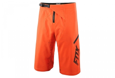 fox short demo freeride orange fluo
