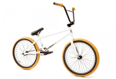 bmx freestyle fit dugan 2 lhd blanc 2017