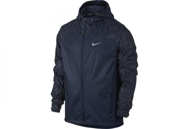 veste coupe vent homme nike shield flash bleu