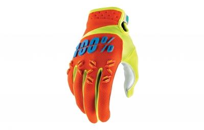 gants long 100 airmatic orange
