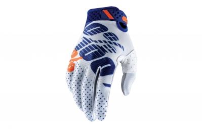 gants longs 100 ridefit blanc