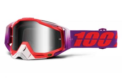 100 masque racecraft watermelon violet ecran mirror argent