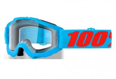 masque 100 accuri acidulous bleu enfant verres transparent