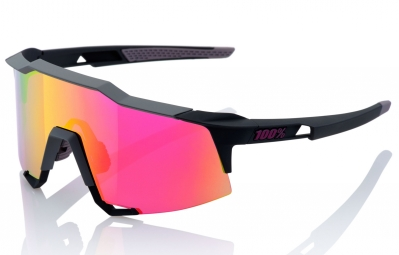 lunettes 100 speedcraft ll noir ecran violet iridium
