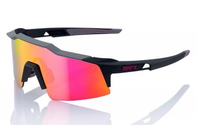 lunettes 100 speedcraft sl noir ecran mirror violet
