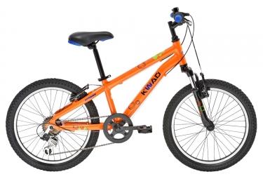 vtt enfant gitane kwad 20 6 vitesses orange 6 9 ans
