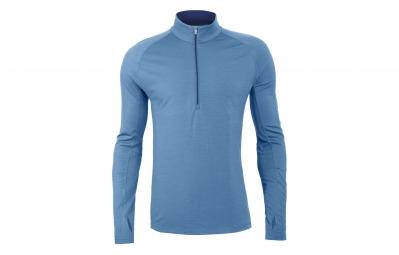 maillot manche longues icebreaker zone bleu