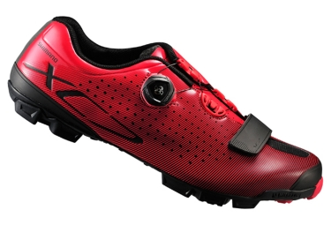 chaussures vtt shimano xc 700 rouge