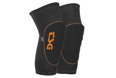 genouilleres tsg 2nd skin d3o noir orange