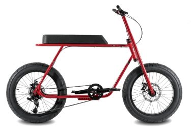 coast cycles velo ruckus rouge