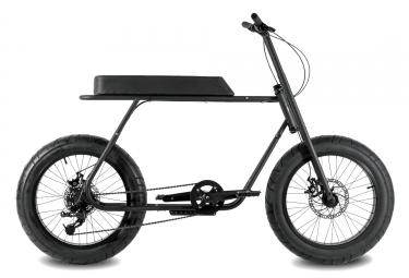 coast cycles velo ruckus noir mat