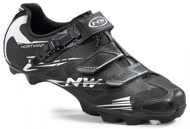 chaussures vtt northwave scorpius 2 srs noir blanc