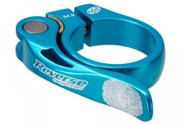 reverse collier de selle long life diametre 34 9 mm bleu