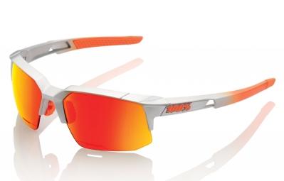 lunettes 100 speedcoupe ll gris ecran orange iridium