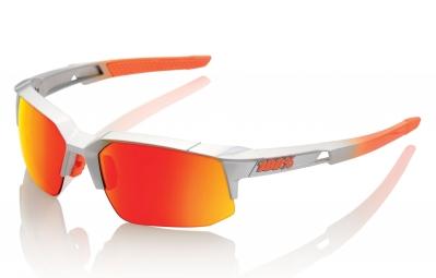 lunettes 100 speedcoupe sl gris ecran orange iridium