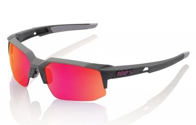 lunettes 100 speedcoupe sl gris ecran violet iridium