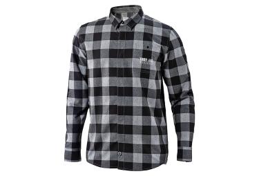 chemise troy lee designs grind flannel gris