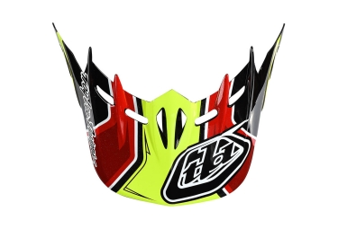 visiere troy lee designs d2 sonar jaune