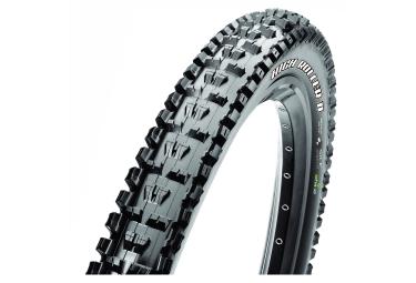 pneu maxxis high roller ii 27 5 tubetype souple single silkshield ebike noir