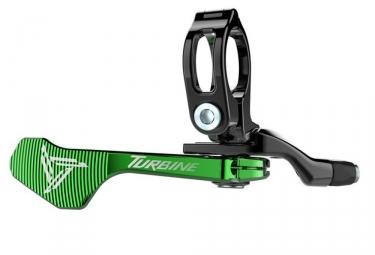 commande tige de selle raceface 1x turbine vert