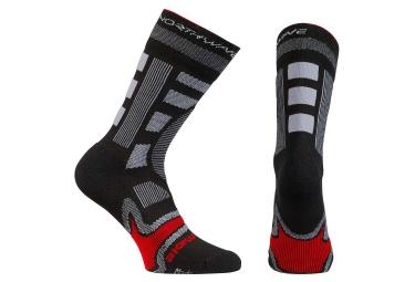 chaussettes hiver northwave evolution winter noir rouge