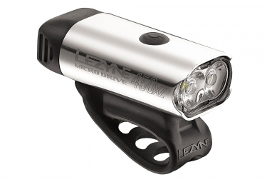 eclairage lezyne led micro drive 450xl argent