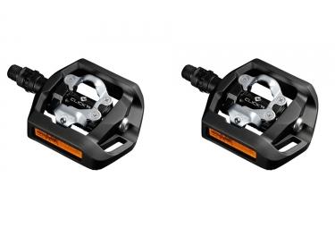 paire de pedales shimano pd t421 noir