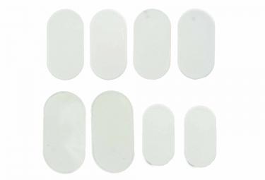protection cadre lizard skins patch kit transparent