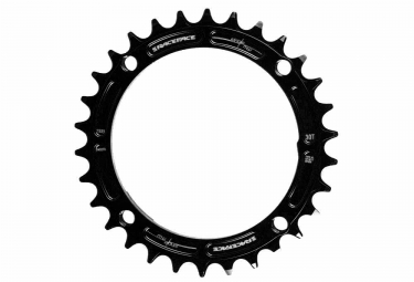 race face mono plateau narrow wide 104 mm noir taraude