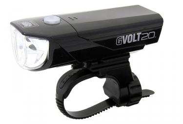 eclairage avant cateye gvolt 20 hl el350g rc noir